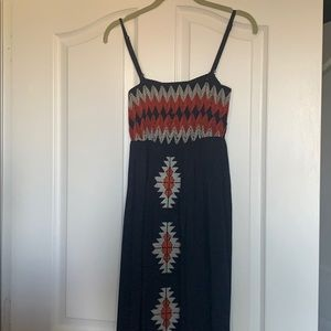 Beautiful THML maxi dress.